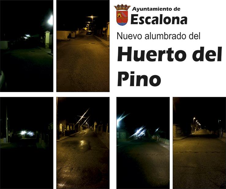 Nuevo alumbrado del huerto del pino - Farolas galvanizadas ...